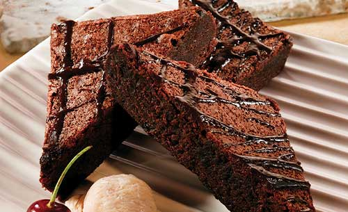 gourmet brownie dessert provider to food service industry