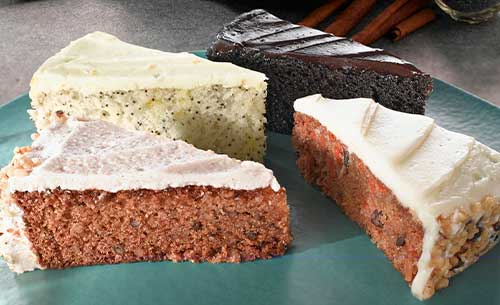 gourmet cake dessert provider to food service industry
