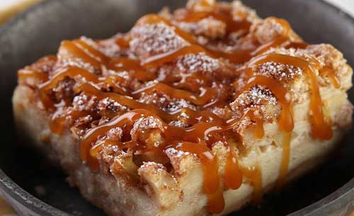 gourment harvest bread pudding dessert provider to food service industry