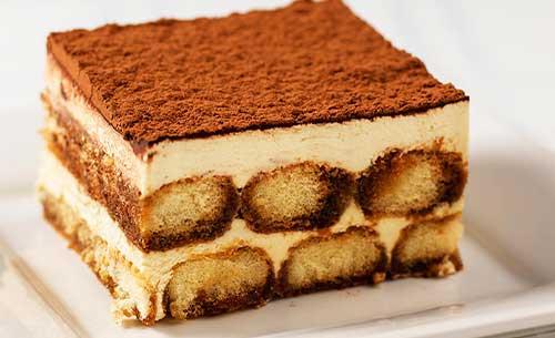 gourmet tiramisu dessert provider to food service industry