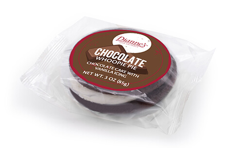 chocolate whoopie pie individually wrapped - dessert provider to food service industry