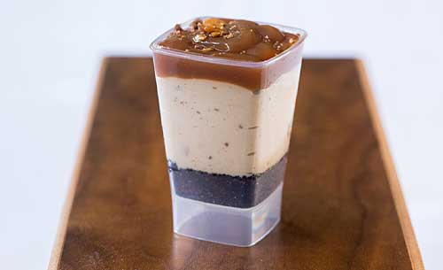 gourmet peanut butter shooter dessert provider to food service industry