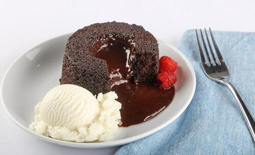 gourmet chocolate molten lava dessert provider to food service industry